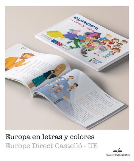 europa en letras y colores